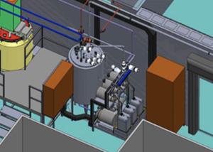 Modélisation zone de production - 3D Process