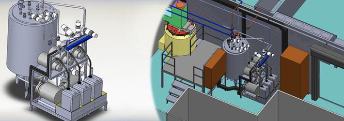 Conception fabrication de procédés pharmaceutiques & modélisation d'une zone de production