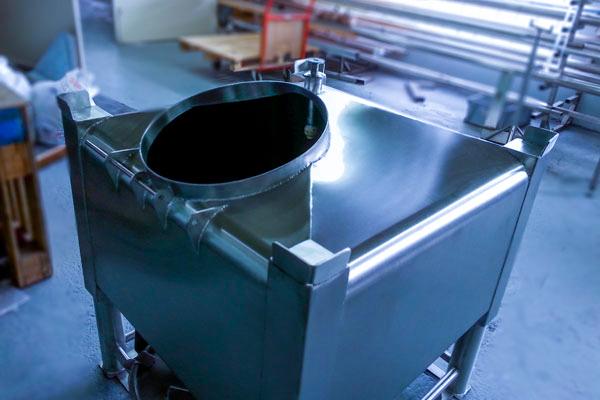 Conception fabrication trémie de granules - 3D Process
