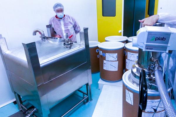 Conception fabrication trémie de granules