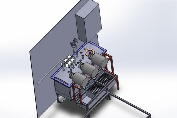 Schématisation Cuve de NEP intégrée