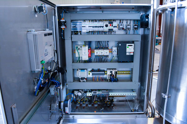 Système de nettoyage en place - mobile skid NEP pharmaceutique