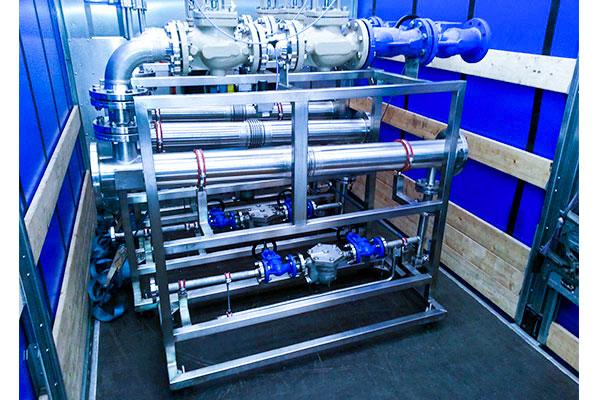Skid production eau chaude