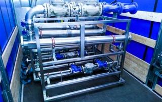Skid production d'eau chaude
