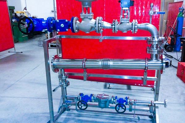 Skid production eau chaude - 3D Process
