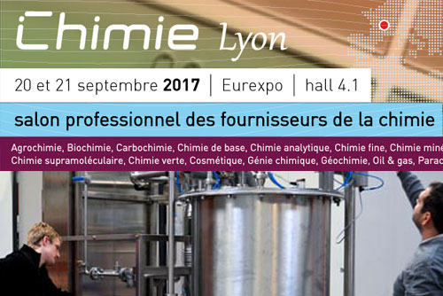 3D Process Salon Chimie Lyon 2017