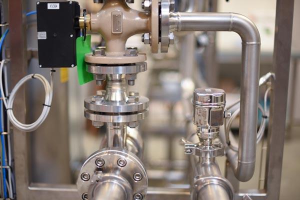 Skid de production d'eau pure 3D Process