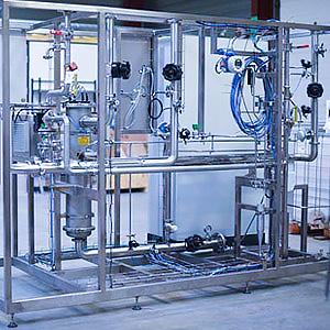 Distribution eau - 3D Process