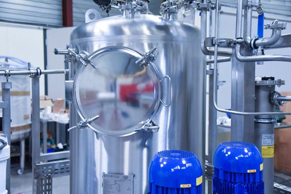 Haut du Distributeur et producteur eau osmosée