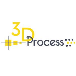 3D Process Mobile Retina Logo