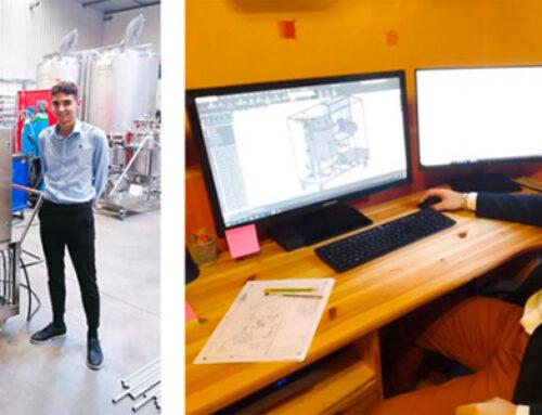 Agrandissement de l'équipe 3D Process