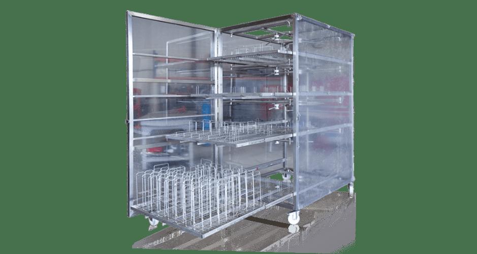 Chariot industrie pharmaceutique