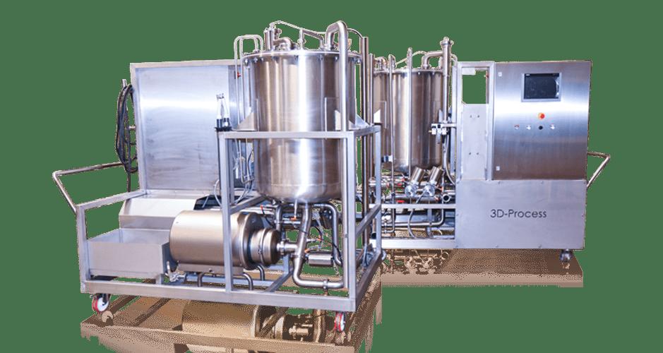 NEP mobile pour l'industrie de l'agroalimentaire