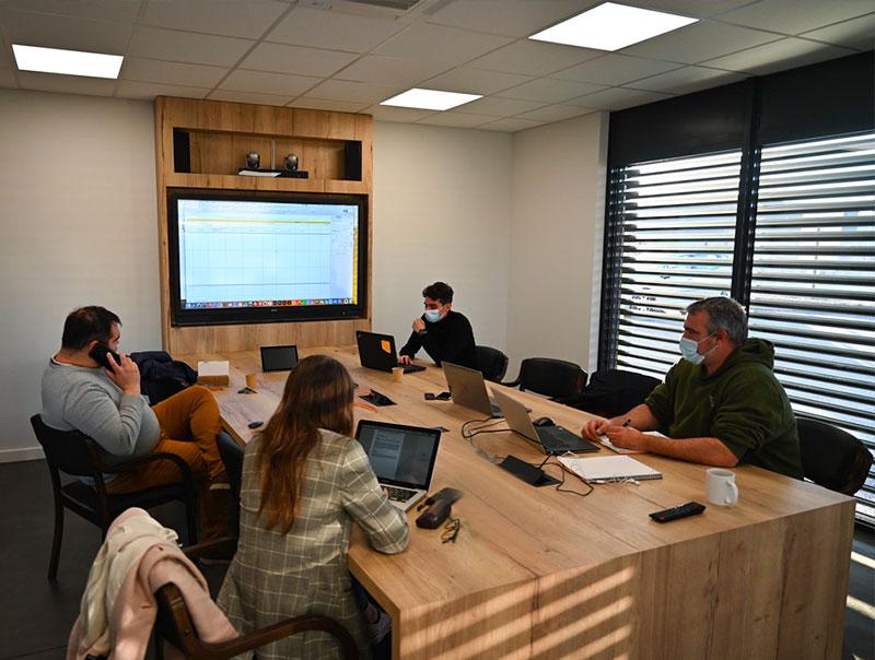 Salle de réunion 3D Process