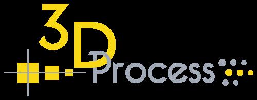 3D Process logo version claire